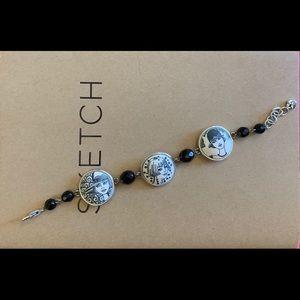 Brighton NANETTE Blush Girl Medallion Bracelet